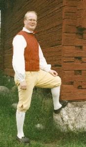 Ledamot Mikael Magnusson Bromma Folkdansgille