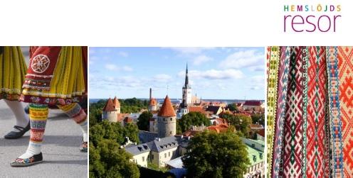 NYTT DATUM! Dans- och Dräktresa till Tallinn 21-25 september 2017