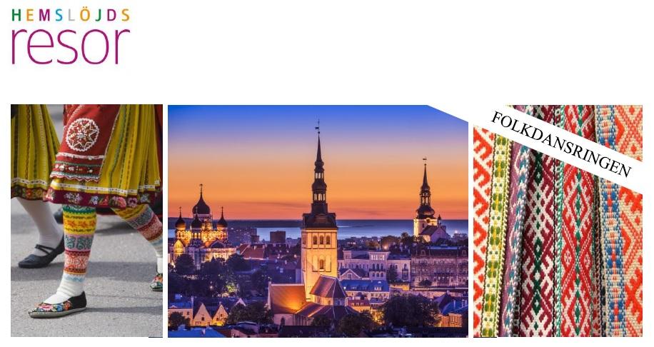 Dans- och Dräktresa till Tallinn 2017