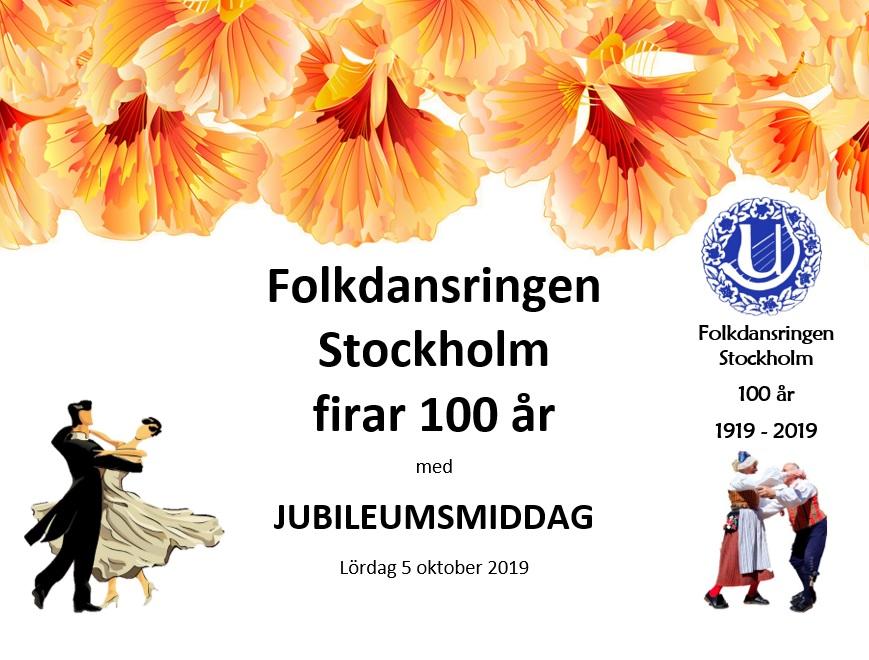 5/10: JUBILEUMSMIDDAG