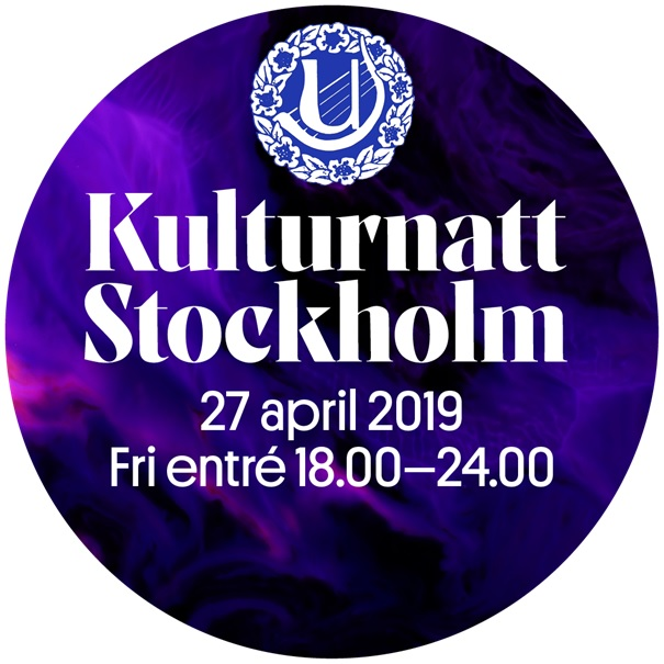 27/4: KULTURNATT Stockholm